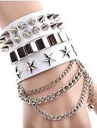 Lederen armbanden 1 stuks,Modieus / Verstelbaar Others Koffiebruin Leder Sieraden Gifts