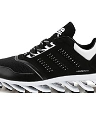 Chaussures Noir / Vert Tulle Course à Pied Homme / Unisexe