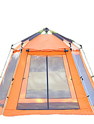 5-8 persons Screen House & Room Tent Shelter & Tarp Triple Automatic Tent One Room Camping Tent 2000-3000 mmMoistureproof/Moisture
