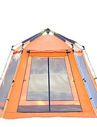 5-8 personnes Abri & Séjour Tente Abri et Toile Triple Tente automatique Une pièce Tente de camping 2000-3000 mmRésistant à l'humidité