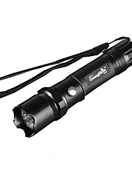 3 Gear Aluminum Rechargeable LED Flashlight (Single Flashlight)