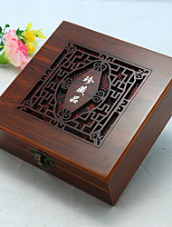 Wood Brown Jewelry Box