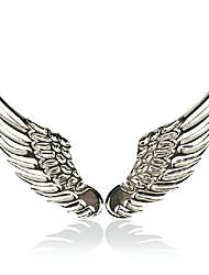 asas de anjo metal puro cauda automóvel etiquetas, modificação do carro, indivíduo do metal adesivos decorativos
