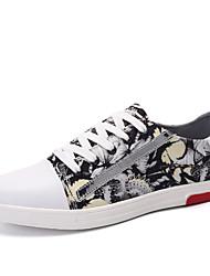 Men's Board Shoes Casual/Travel/Outdoor Fashion Sneakers Canvas Leather Shoes EU39-EU44