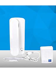 cable de teléfono de línea interior de la casa no visual de intercomunicación timbre de AC-DC de bloqueo de control eléctrico