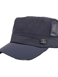 Cap Unisex Breathable / UV resistance Leisure Sports / Baseball Light Gray /