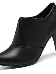 Homme-Décontracté / Soirée & Evénement-Noir-Gros Talon-Talons-Chaussures à Talons-Synthétique