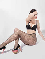 BONAS® Women Jacquard Mesh Solid Color Thin Legging