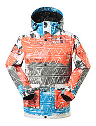 Gsou snow men ski jackets/ snowboard/double snowboard jackets / outdoor windproof breathable ski-wear