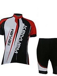 KEIYUEM®Others Men's Cycling Jersey Short Sleeves + Shorts ropa ciclismo Cycling clothing Suits #53