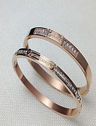 Alloy Gold Bangle Bracelet