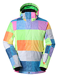 Gsou snow men ski jackets /snowboard/double snowboard jackets/men windproof waterproof ski-wear
