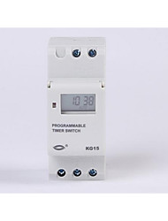Guide Rail Type Liquid Crystal Industrial Electronic Timer KG15