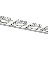 cristal 12w / led éclairage de salle de bains, / contemporain métallique intégrée moderne conduit