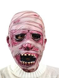 Halloween de miedo momia máscara haloween máscaras de la cara de día de pago terror diablo cosplay máscara de látex respetuoso del medio