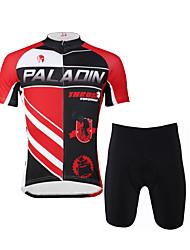 ILPALADINO Camisa com Shorts para Ciclismo Homens Manga Curta Moto Camisa/Roupas Para Esporte Shorts Conjuntos de RoupasSecagem Rápida