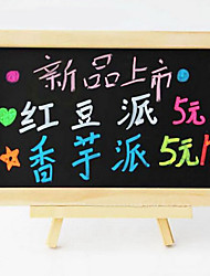 20 * 30cm Magnetic Blackboard with a Small Wooden Cradle for Children