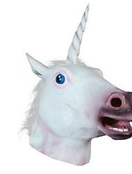 novo chefe 2016 unicórnio cavalo máscara de Halloween presente de festa a fantasia prop máscaras novidade látex de borracha assustador