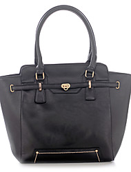 Women PU Formal / Sports / Outdoor / Office & Career / Shopping Tote Black