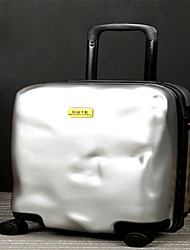 Unisex PVC Outdoor Luggage Yellow / Red / Silver