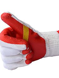 вырезанные устойчивые клейкие перчатки носить нескользящей резиновые перчатки линии
