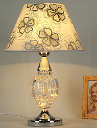 Modern Traditional Single Head Glass with Metal Table Lamp for the Bedroom / Study Room Decorate Dest Light