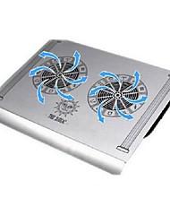 cmpick notebook liga de alumínio base de resfriamento usb alumínio puro