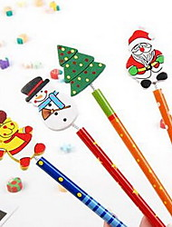 lápis cartoon christmas