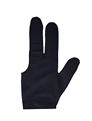 One-piece Cue Gloves Pool Carbon