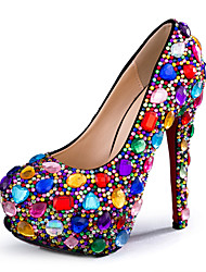 Women's Shoes Stiletto Heel Heels Heels Wedding / Party & Evening / Dress Multi-color