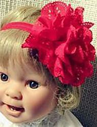Mädchen Haarzubehör Jede Saison Baumwollmischung Rosa / Rot / Beige