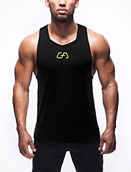 Men's Breathable Sexy V-neck Loose Vest Fitness Training Quick-drying Vest