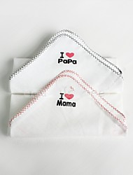 "2PC Pack Full Cotton Soft Baby Towel 10"" by 10"""