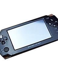 cmpick pourpre lumière de poche électronique jeu tactile de 4,3 pouces ultra-minces consoles de jeux arcade psp23000