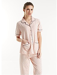 Katoen-Man / Vrouw-Pyjama