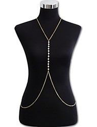 Fashion Sexy Bikini Imitation Pearl Body Chain Party / Daily / Casual 1pc