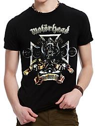 Men's Summer Motorhead British Heavy Metal Rock Band T-Shirt