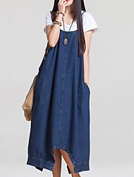 Mutterschaft Hose - Jeans Einfach Baumwolle Dehnbar