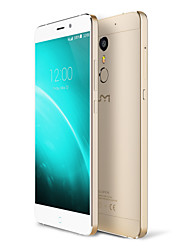 "Super 5.5 "" Android 6.0 Smartphone 4G (SIM Dual Octa Core 13 MP 4GB + 32 GB Gris / Oro)"