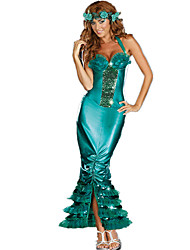 Mermaid Tail Costume Adult Ariel Costume Adult Princess Costume for Girl