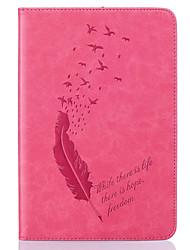 Для Бумажник для карт / Other Кейс для Чехол Кейс для Перо Мягкий Искусственная кожа Apple iPad Mini 3/2/1