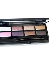 8 da sombra das cores nu comestic duradoura beleza composição cores aleatórias