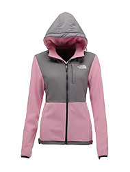 The North Face Women's Denali Fleece Hoodie Jacket Outdoor Sports Trekking Running Zipper Jackets