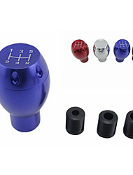 Universal 5 Gear Manual Gear Head Gear Head Modified Aluminum Shift Knob