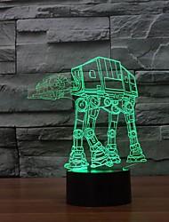 3 d LED-Nachtlicht Haushaltsverzierungs