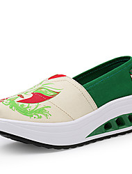 Women's Shoes Tulle Spring / Summer / Fall / Roller Skate Shoes / Creepers / Comfort / Flats Sneakers /