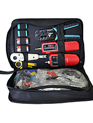 Home Wiring Kit, Cable Clamp, Line Tester, Crystal Head Stripping, Wire Cutter, Network Tool Kit