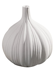 Modern Style Home DecorationGarlic Shaped Ceramic Vase