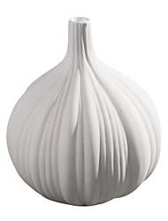 moderno estilo de casa decorationgarlic vaso de cerâmica em forma