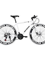 Bikes artes fixas Masculino / Mulheres / Unissex Comum Freio a Disco Comum / Quadro de Aço Comum / Anti-Escorregar 21 velocidade26